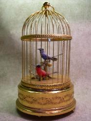 Singing Bird Cage Automaton - Swiss 1900s