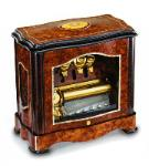 Reuge cylinder music box with bells